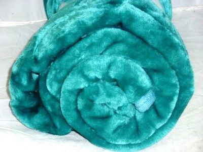 turquoise bed shaggy blanket - Google Search