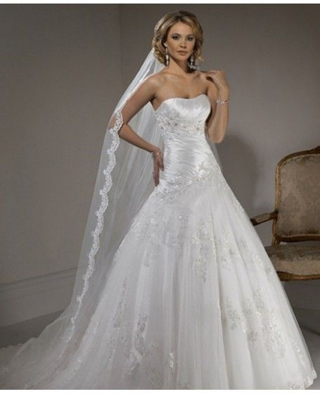 nice wedding dress!!!!!!! | Wedding dresses | Pinterest | Nice ...