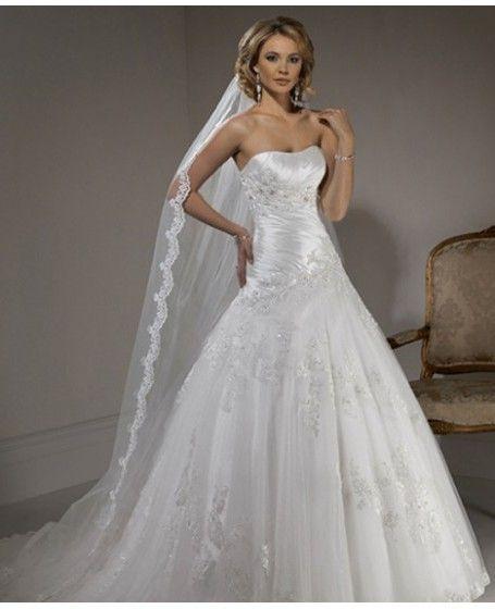 nice wedding dress!!!!!!! | Wedding dresses | Pinterest | Nice ...