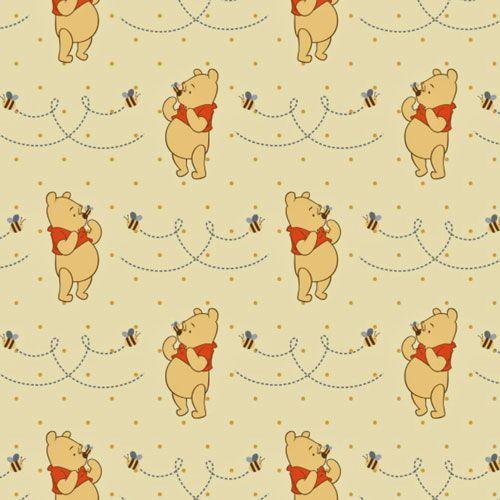 Winnie the Pooh Honeybee on Yellow | Pooh | Pinterest | Winnie the ...
