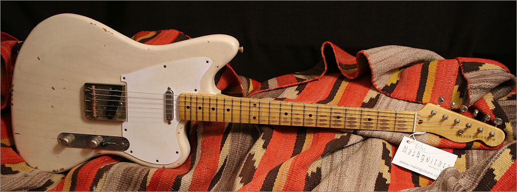 Nash Guitars Hybrid Model Of A Quot Telemaster Quot Or