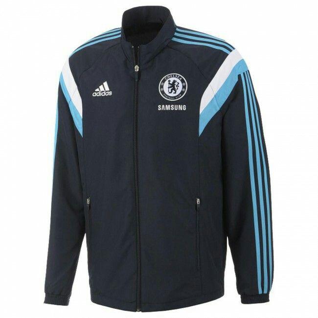 2013 14 Chelsea veste de présentation adidas (bleu