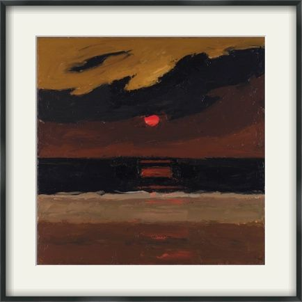 Buy framed, made to order prints from Art UK Shop Sunset, Anglesey ...