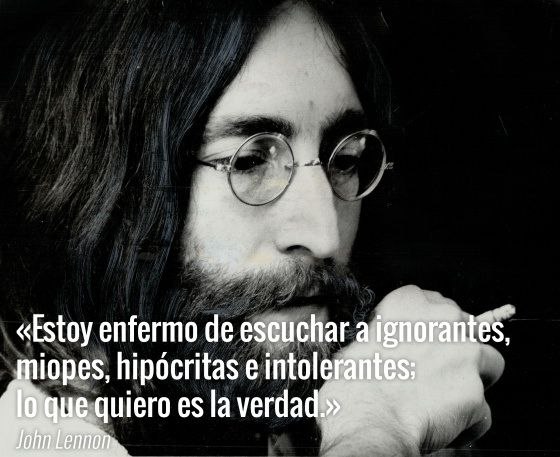 Mensagens De Aniversario: Diez Frases Para Recordar A John Lennon En El 35