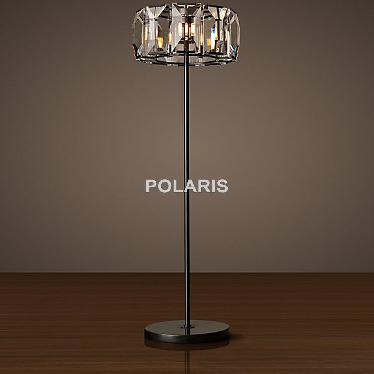 Factory Outlet Modern Vintage Crystal Floor Lamp Luxury Cristal ...
