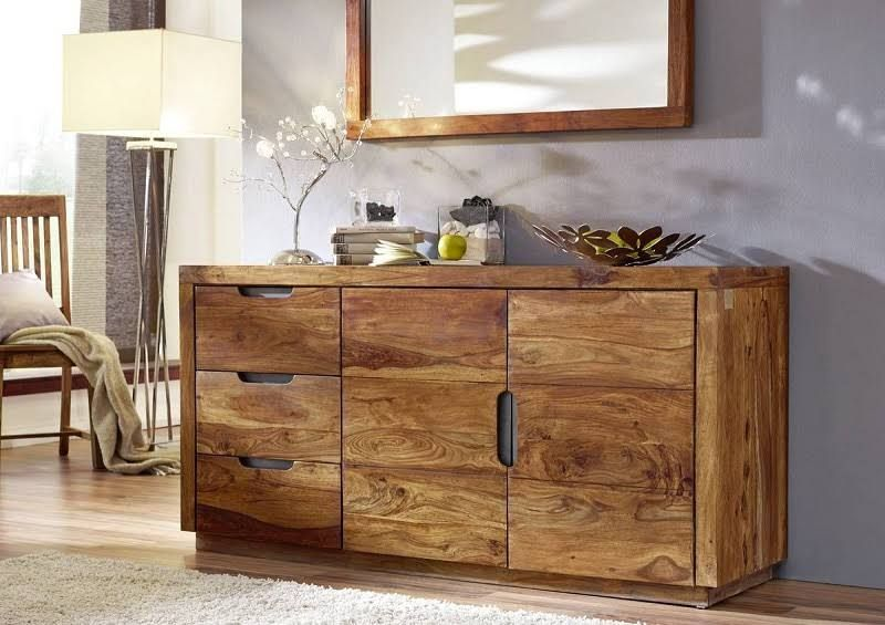 sheesham m bel sideboard palisander holz massiv duke 126 kommode pinterest kommode. Black Bedroom Furniture Sets. Home Design Ideas