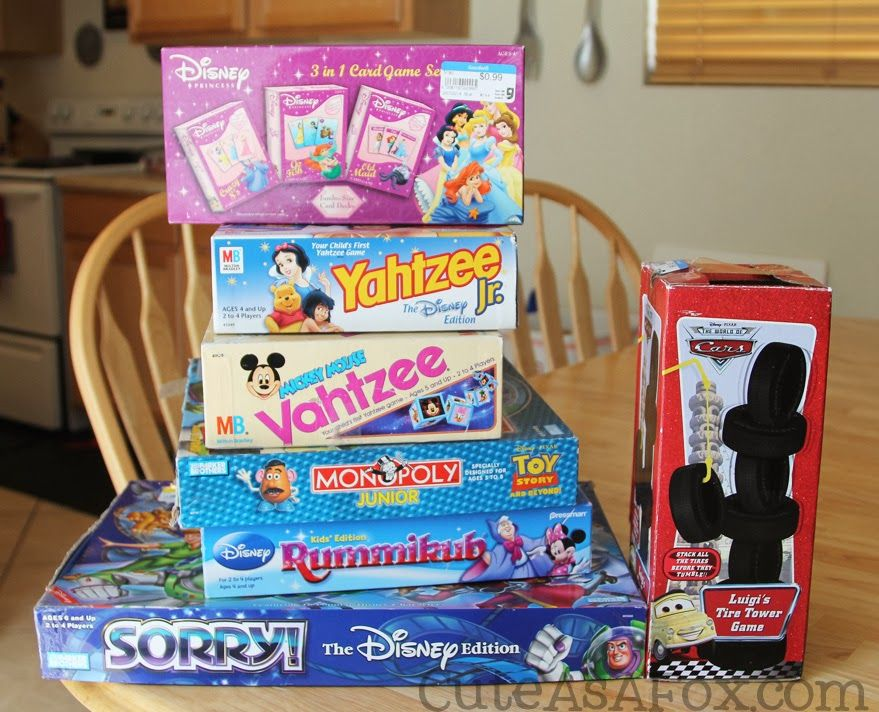 Throw a #Disneyside Game Night