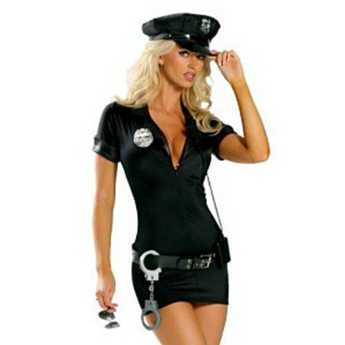 Ladies Police Woman Officer Cop Fancy Dress Costume - SIZE Small 6 to 8  sc 1 st  Pinterest & Ladies Police Woman Officer Cop Fancy Dress Costume - http://www ...