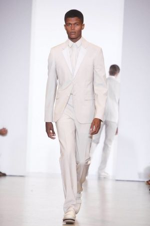 18th Century- Ditto Suit- Calvin Klein- Spring/Summer 2013