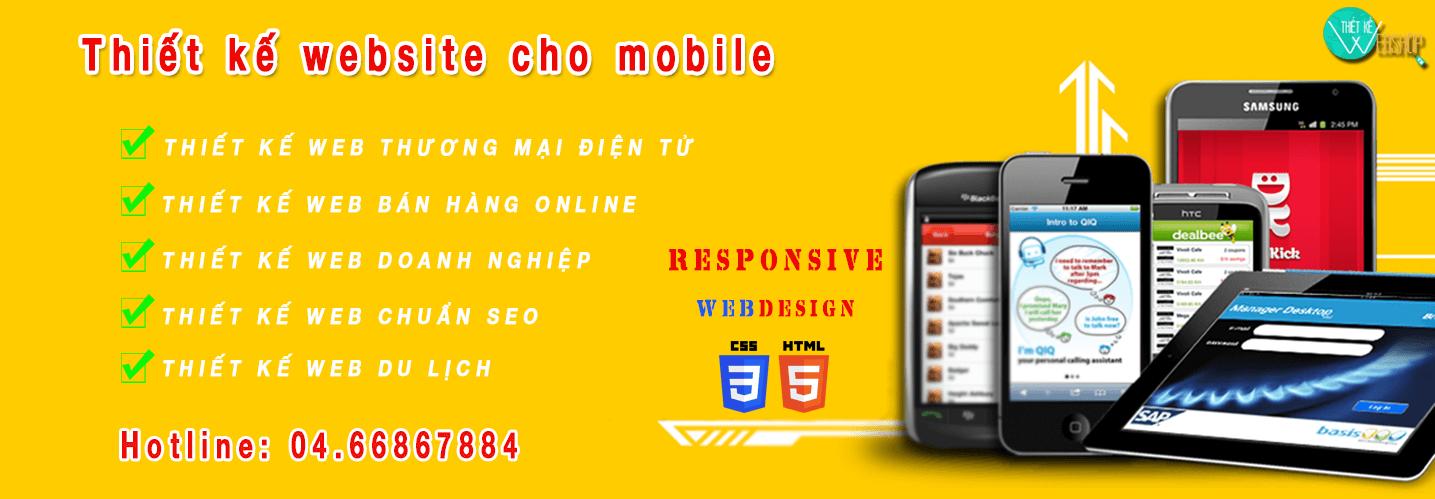 Nếu doanh nghiệp của bạn không thiết kế website chuyên nghiệp cho mobile đồng nghĩa bạn đã bỏ qua một lượng lớn khách hàng tiềm năng đã và đang sử dụng thiết bị di động truy cập internet hàng ngày. Bạn sẽ khó có thể cạnh tranh được với những đối thủ đi trước, những đơn vị cùng lĩnh vực kinh doanh đã có phiên bản mobile responsive cho website. Website: http://thietkewebshop.vn/