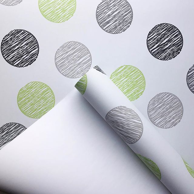 Peel And Stick Polka Dot Lime Green And Grey Wallpaper Bcmagicwallpaper Interiorinspo Selfadhesivewallpaper Grey Wallpaper Wallpaper Self Adhesive Wallpaper