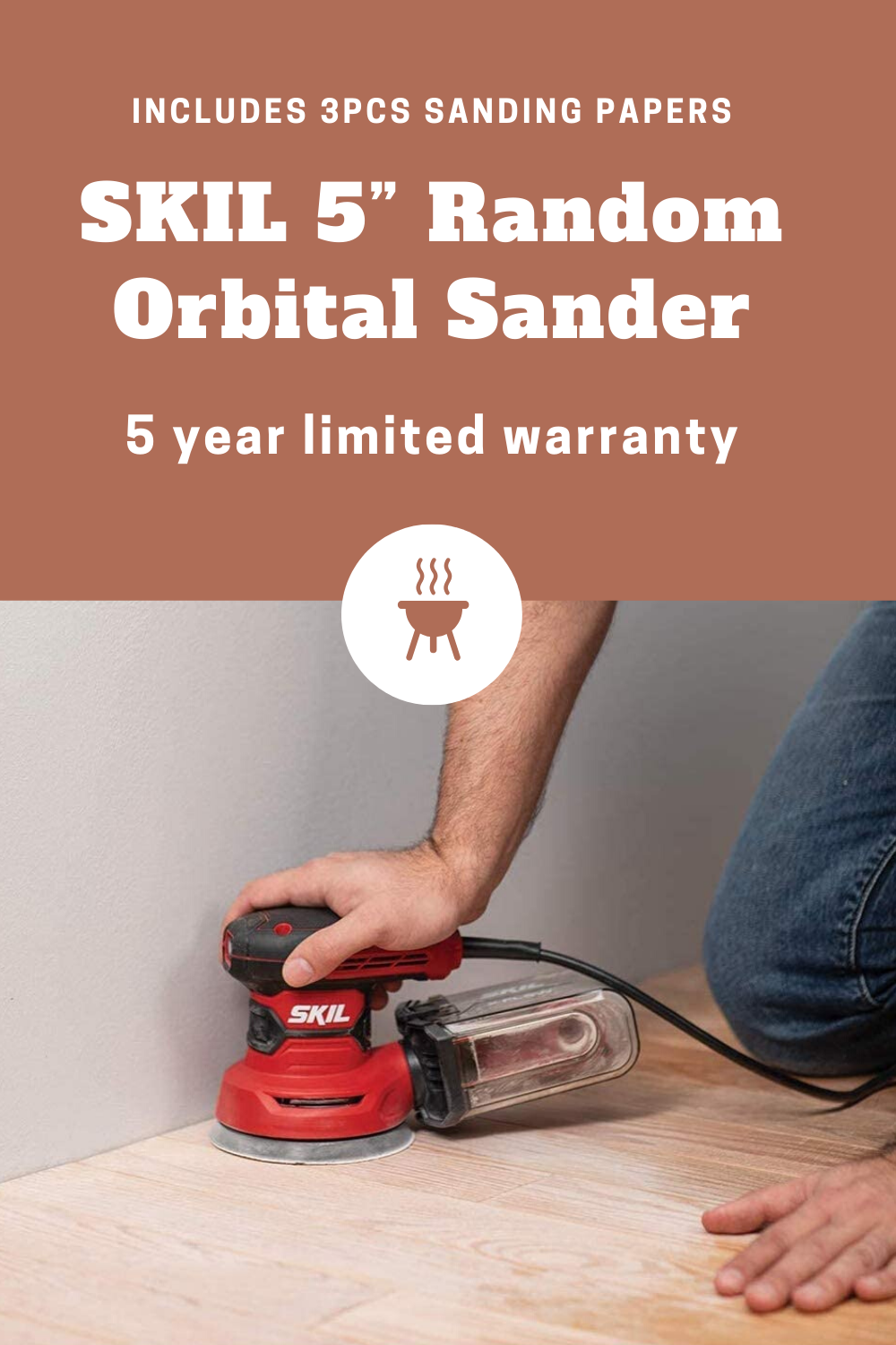 Pin On Orbital Sander