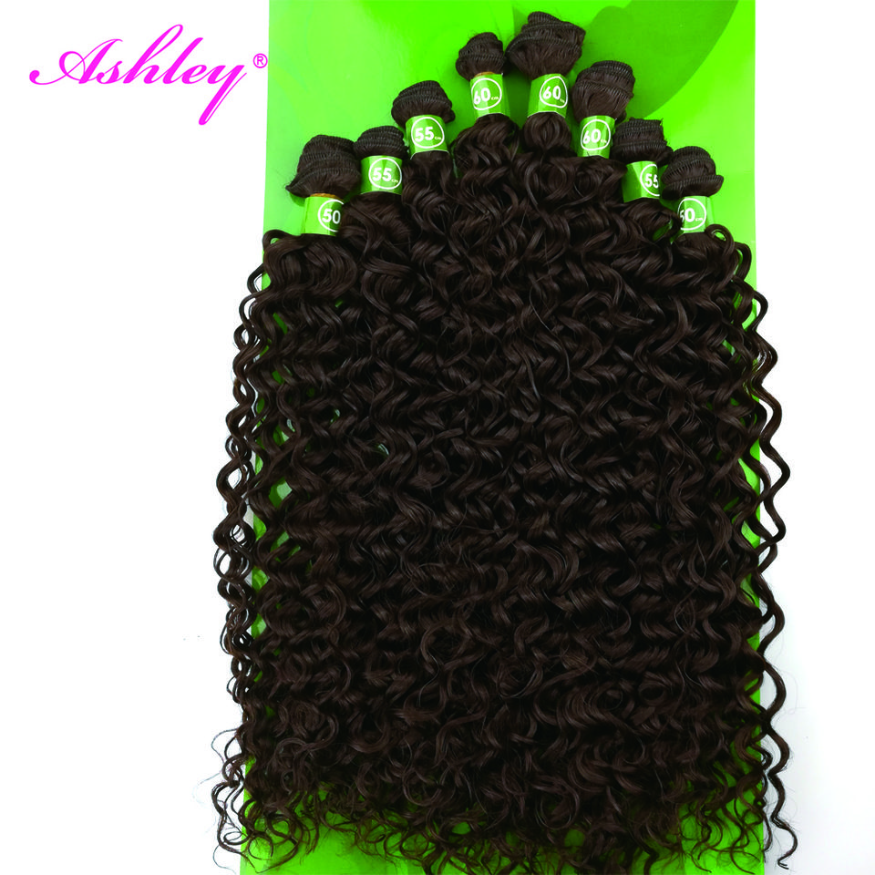 Hot Sale Free Sample Curly Synthetic Brazilian Water Wave Hair