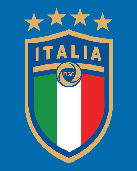 All New Italy National Football Team Logo Unveiled Logo Designer Italy National Football Team Football Team Logos National Football Teams