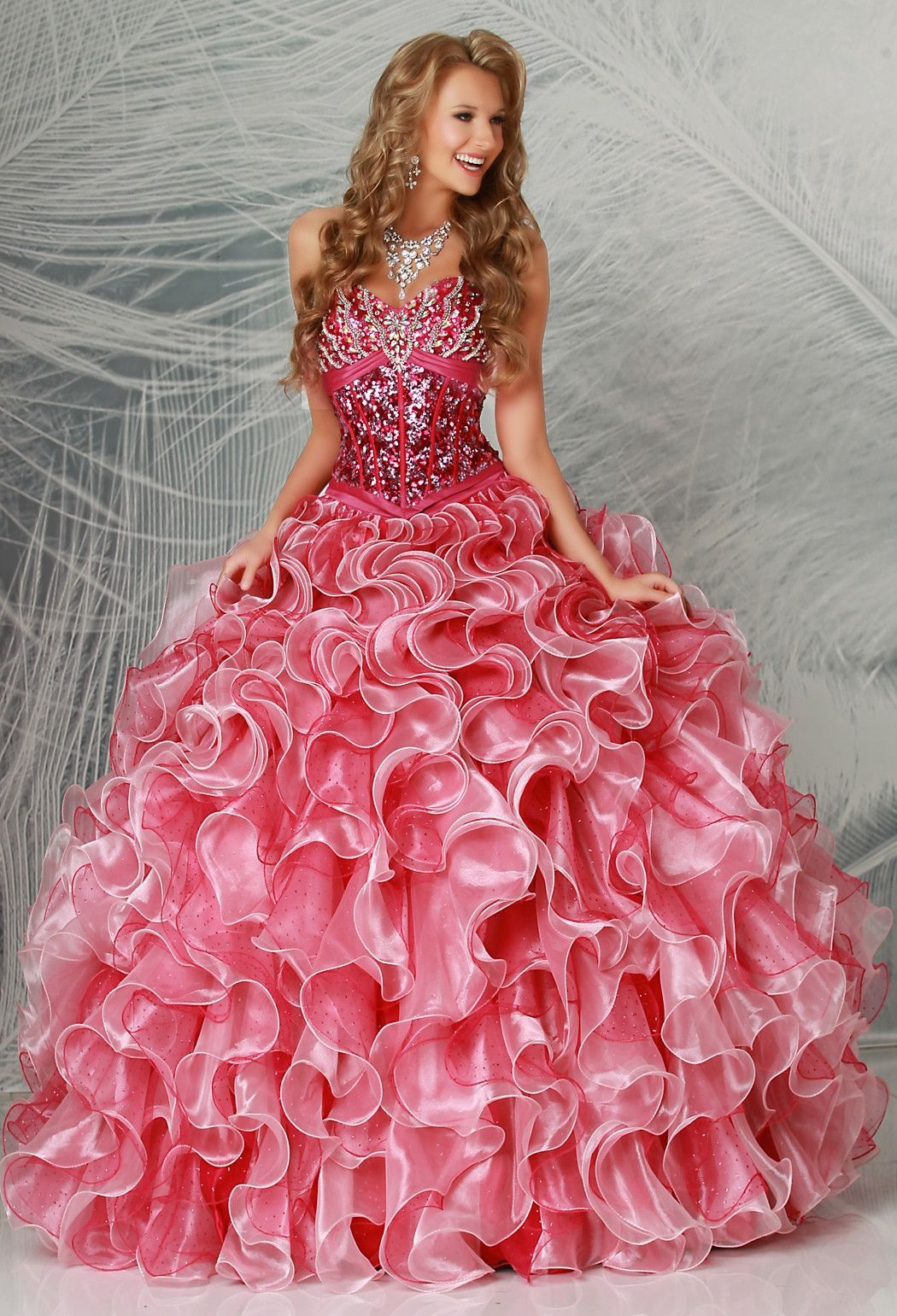 Q by DaVinci Quinceanera Dress Style 80183 | Gowns, Sweet 15 and ...