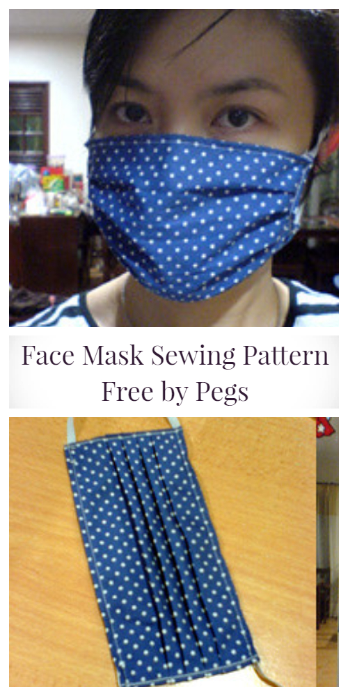 Diy Fabric Face Mask Free Sewing Patterns Paid Video In 2020
