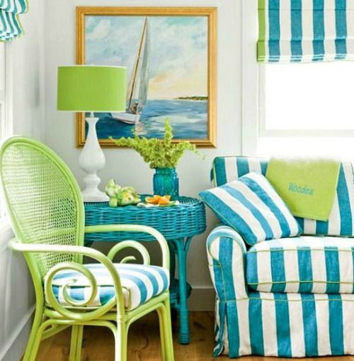 Lime Green Home Decor: Lime Green Decor, House Of Turquoise