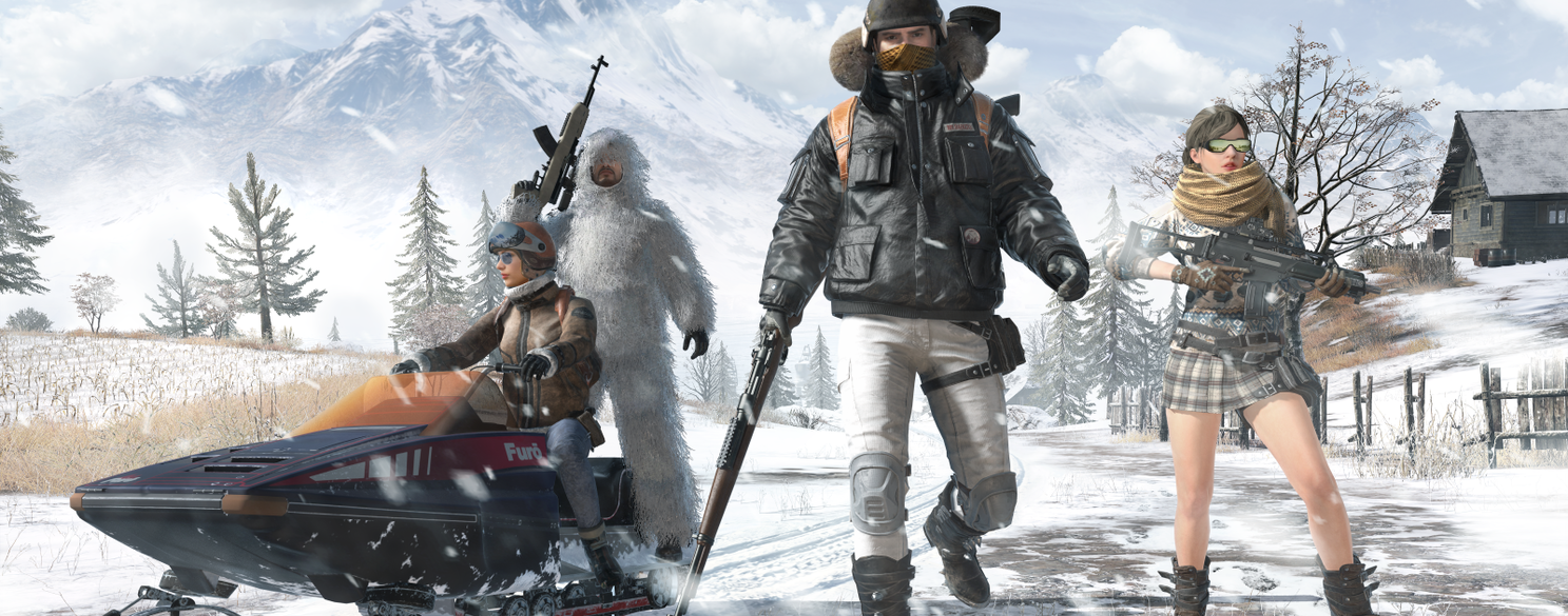 Playerunknown S Battlegrounds Wallpaper Snow: PTS Vikendi Mission Event
