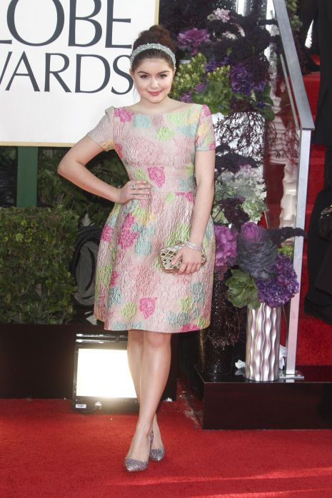Photos from the Red Carpet: The 70th Annual Golden Globe Awards - Ariel Winter #ModernFamily