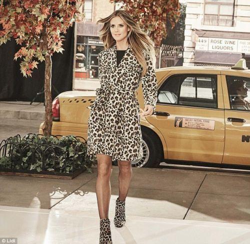 9f5d1f57d79 Brand New Ladies Heidi Klum For Esmara   Lidl Leopard Print Trench Coat 12  14