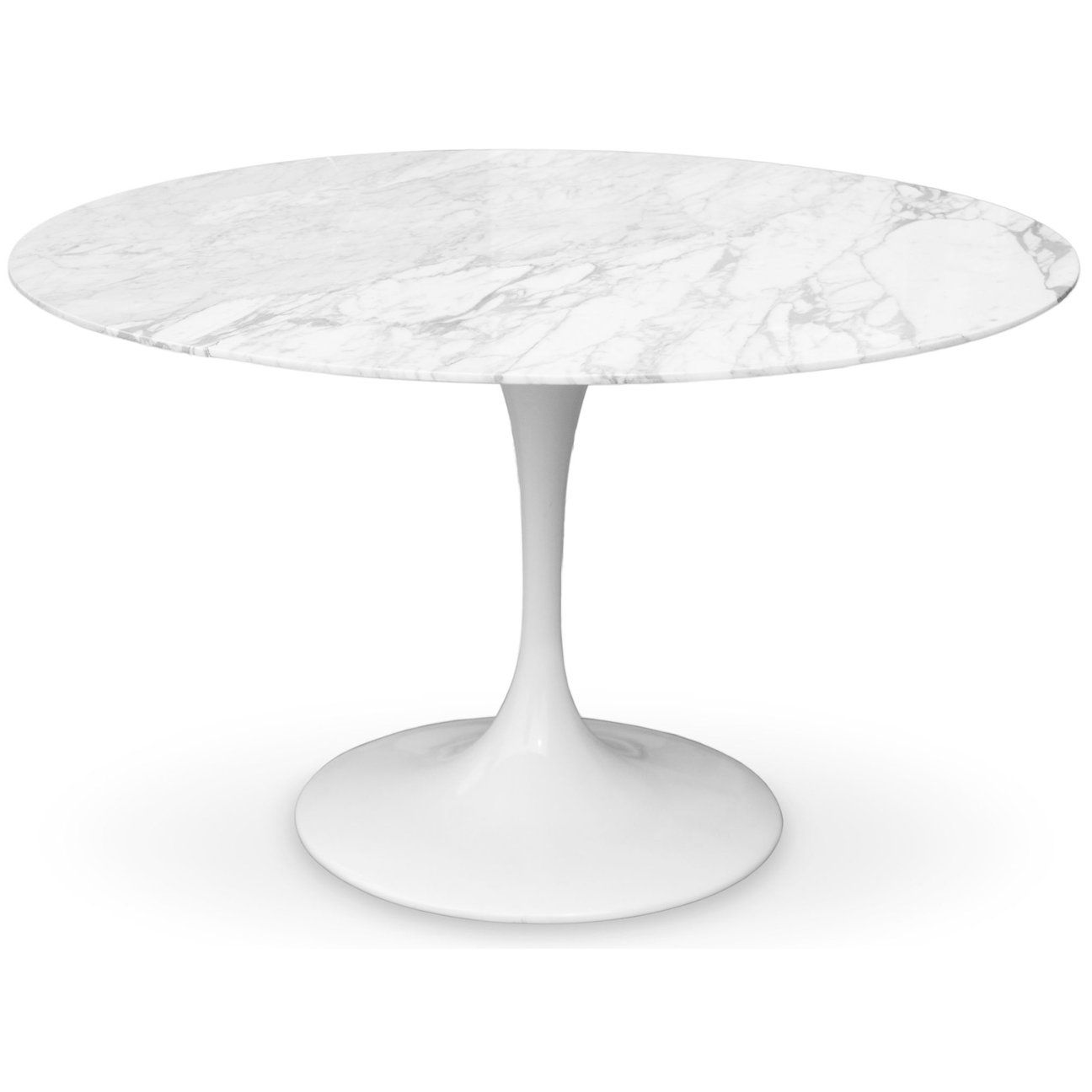 Eero Saarinen Tulip Table Marble Top 40 Modholic Com Saarinen