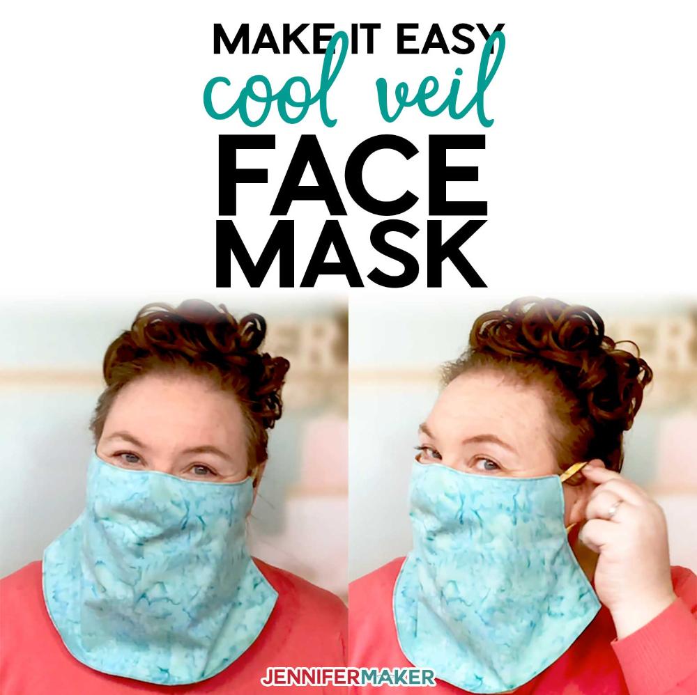 Photo of Easy Veil Face Mask Pattern – Cool for Summer! – Jennifer Maker