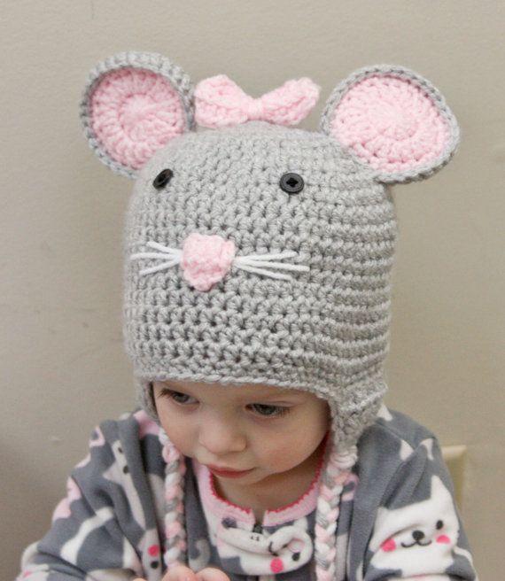 Mouse Hat - Crochet Mouse Hat | Products | Crochet hats