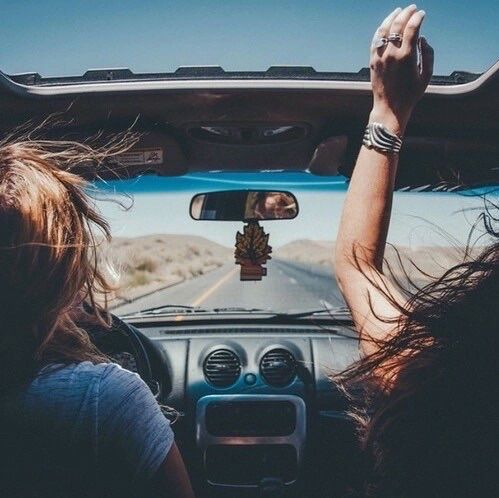 There's nothing like hitting the road with your best friend
