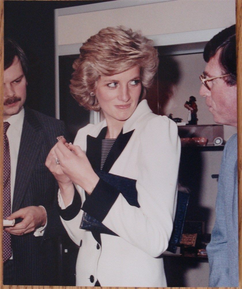 Fine Original Press Photo Princess Diana of Wales Royal Academy 1985 | eBay