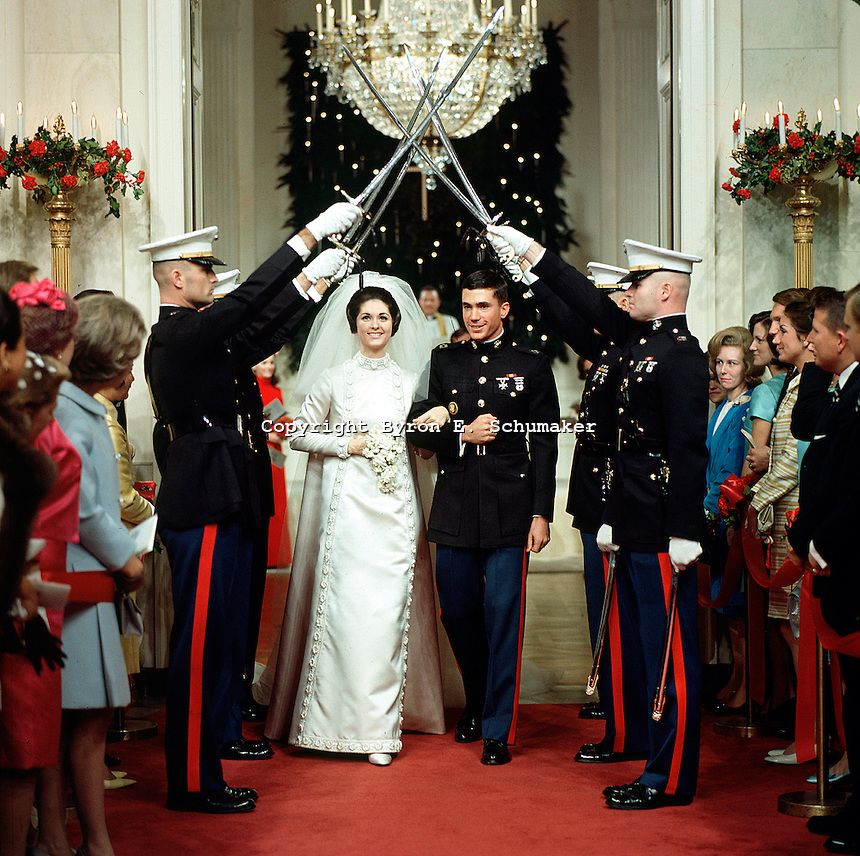 Tricia Nixon Wedding Gown: Lynda Bird Johnson And Chuck Robb's Wedding At The White