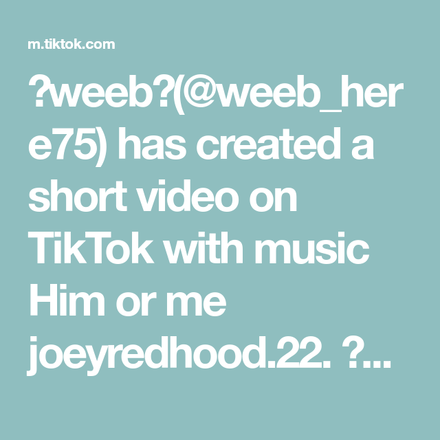 Weeb Weeb Here75 Has Created A Short Video On Tiktok With Music Him Or Me Joeyredhood 22 Choose Wisely Weeb Mha Deku Gon Choose Wisely Video Music