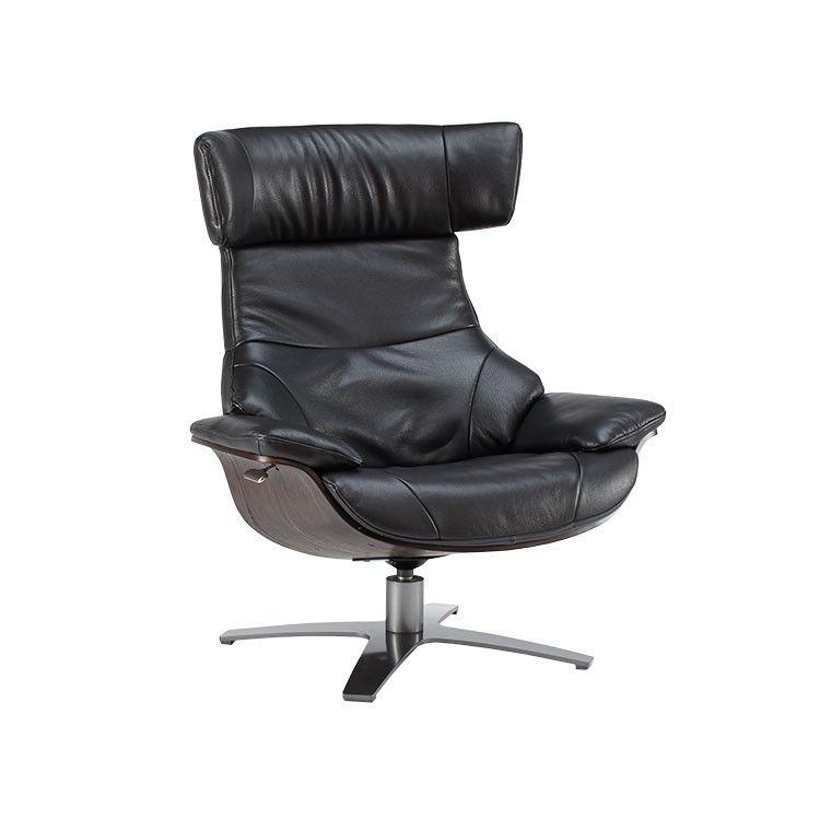 modern leather recliner yellow recliner modern swivel chair