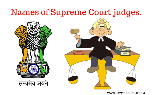 उच चतम न य य लय क न य यध श क न Names Of Supreme Court Judges With Images Supreme Court Judge Court Judge