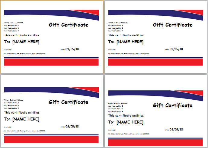 Hotel Gift Certificate Download At Httpdoxhubhotel Gift