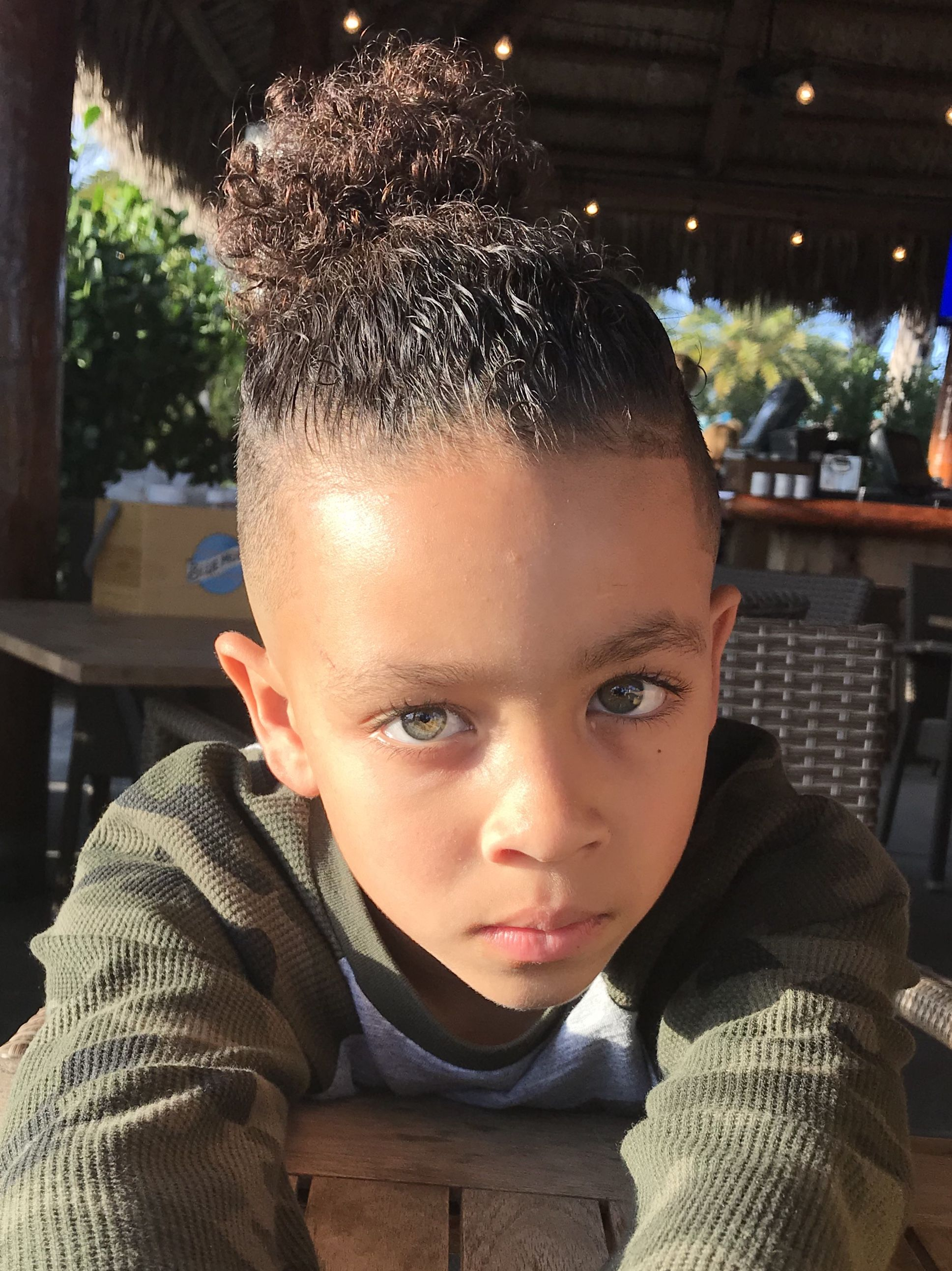 Green Eyed Boy Mulotto Kids Blazegormley On Instagram Natural Hair Styles Hair Styles Twin Girls