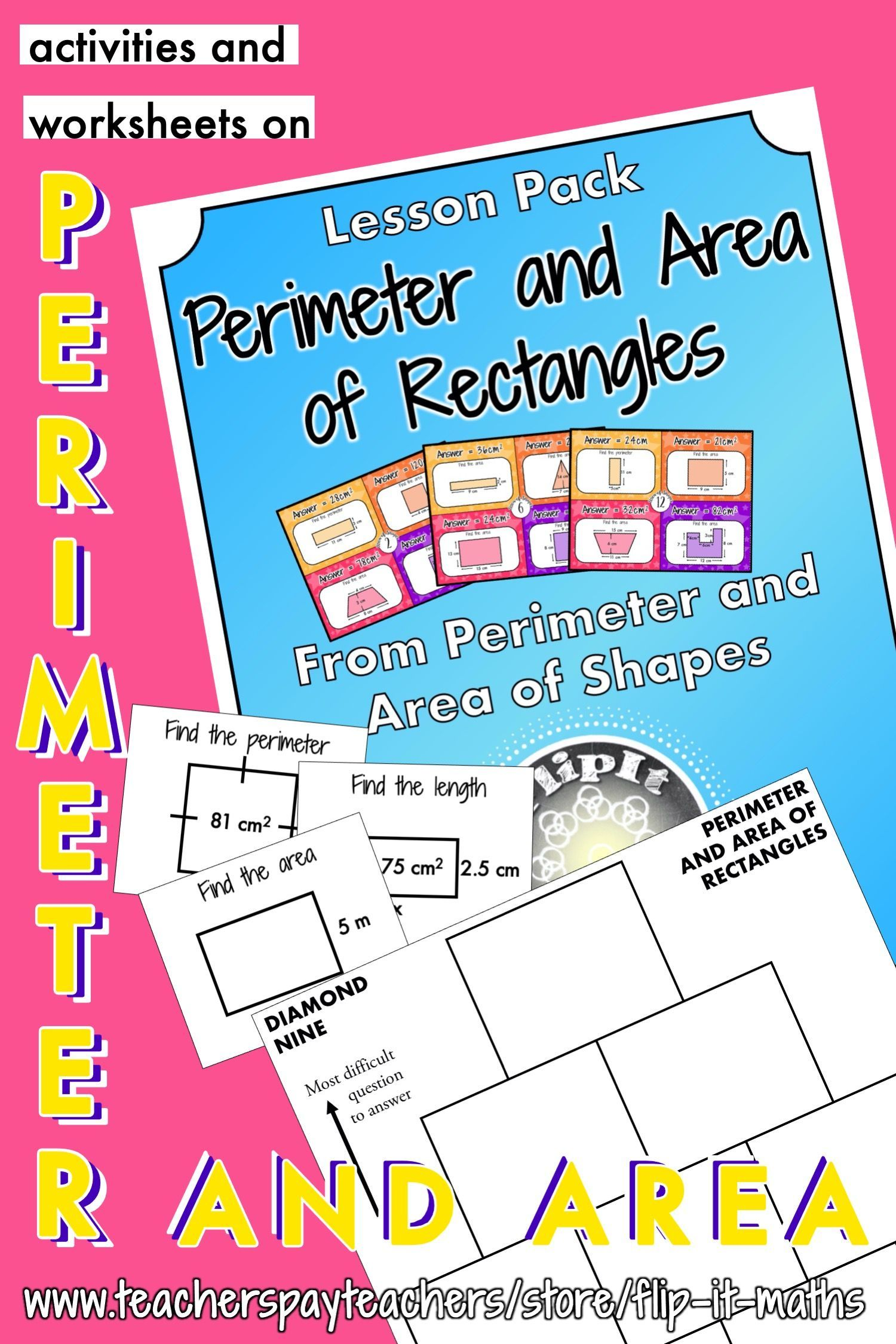 Perimeter And Area Of Rectangles In