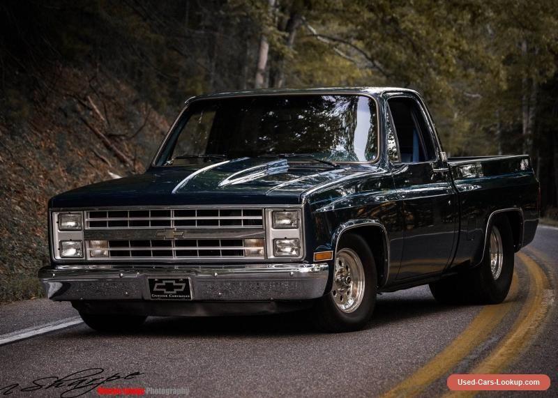 1985 Chevrolet C 10 Chevrolet C10 Forsale Unitedstates Chevy