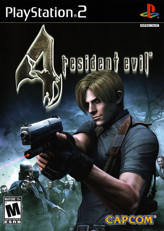 Ps2 Resident Evil 4 Resident Evil Leon Resident Evil