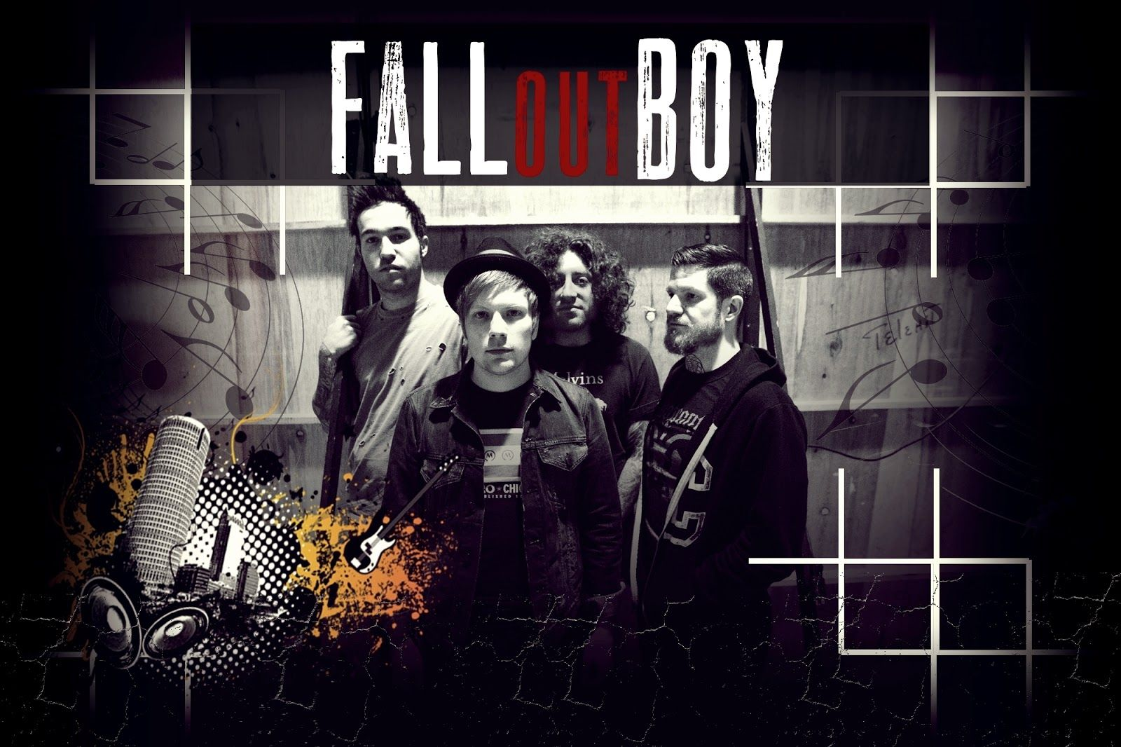 Fall Out Boy Hd Desktop Wallpapers Fall Out Boy Poster Fall Out