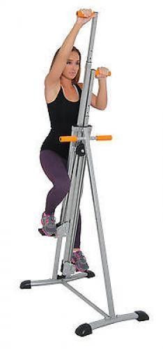 Conquer Vertical Climber Fitness Climbing Machine Complete Body Workout Complete Body Workout Stepper Workout Fitness Body