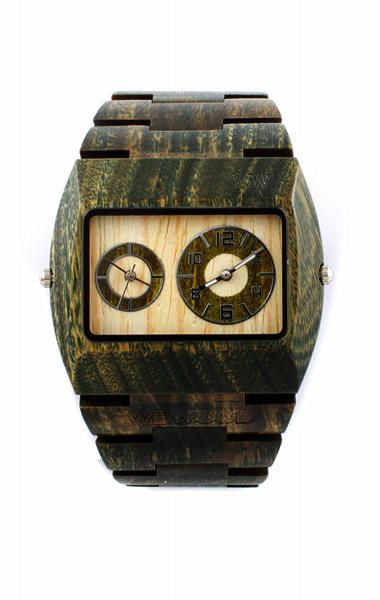 We Wood watch, 100% natural wood