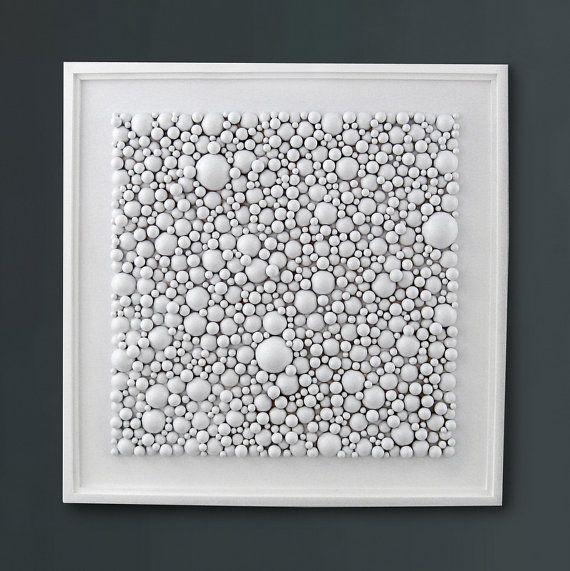 White Wall Art white wall art - wood wall art - wood sculpture - home decor