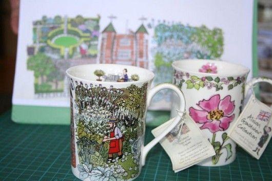 Sissinghurst Castle Gardens, our blog about the mug