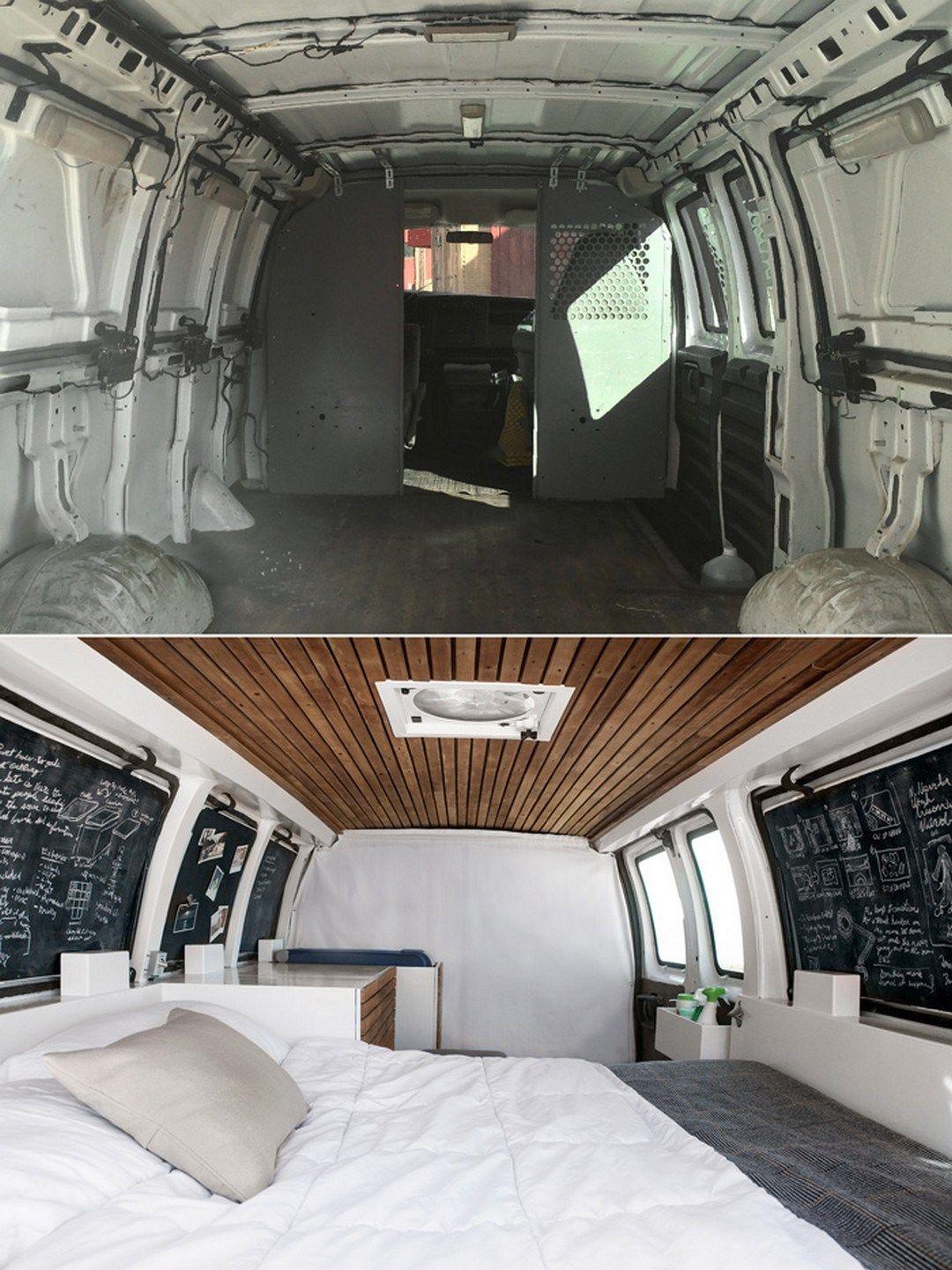 50 cool and fresh ideas van life interior design 4