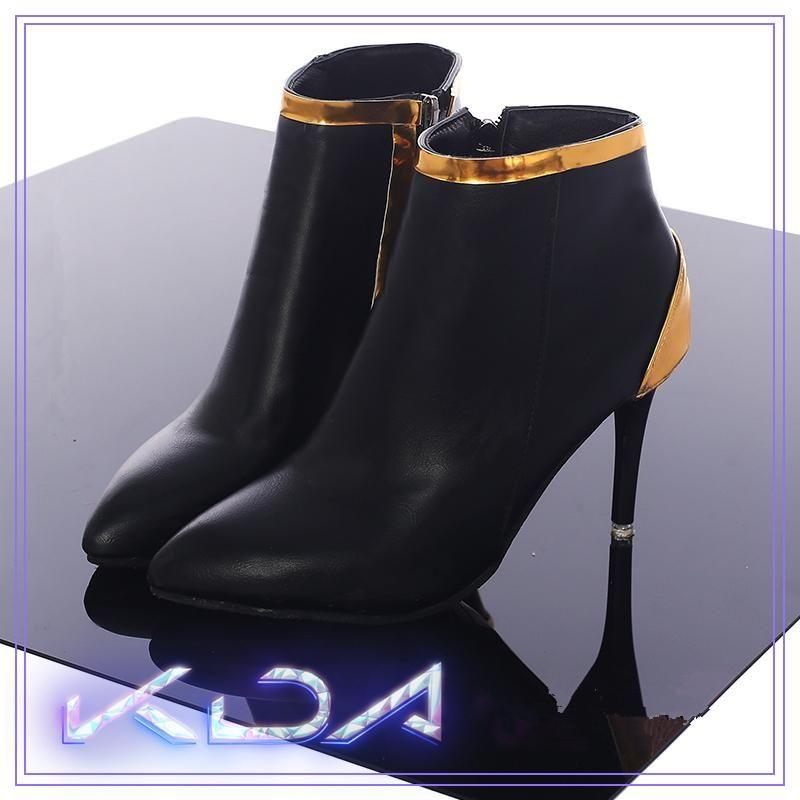 LOL KDA K/DA Ahri Akali Evelynn Cosplay Shoes High Heel