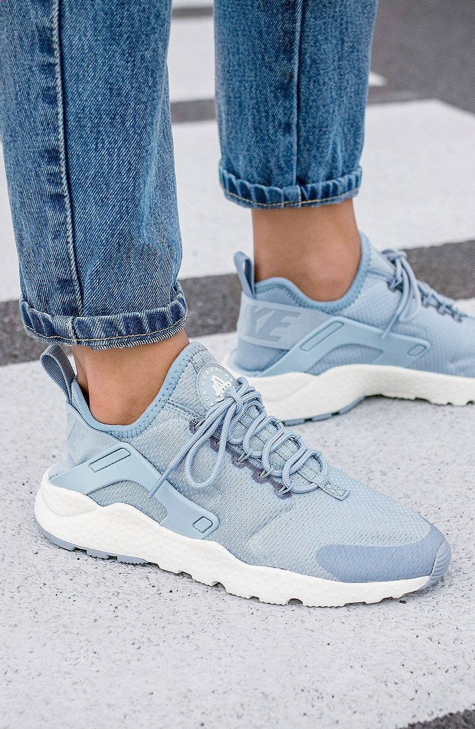 73a8ea9c9a43d Nike Wmns Air Huarache Run Ultra  Blue Grey  (via Kicks-daily.com ...