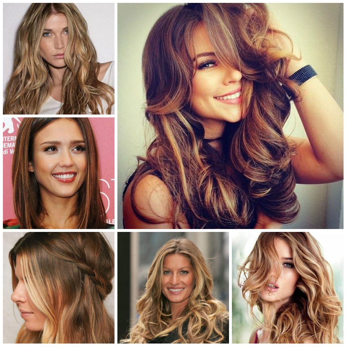 brown hair highlights and lowlights for 2016 | trendy hairstyles