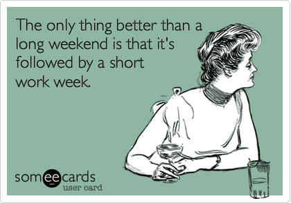 Today S News Entertainment Video Ecards And More At Someecards Someecards Com Long Weekend Quotes Weekend Quotes Weekend Humor