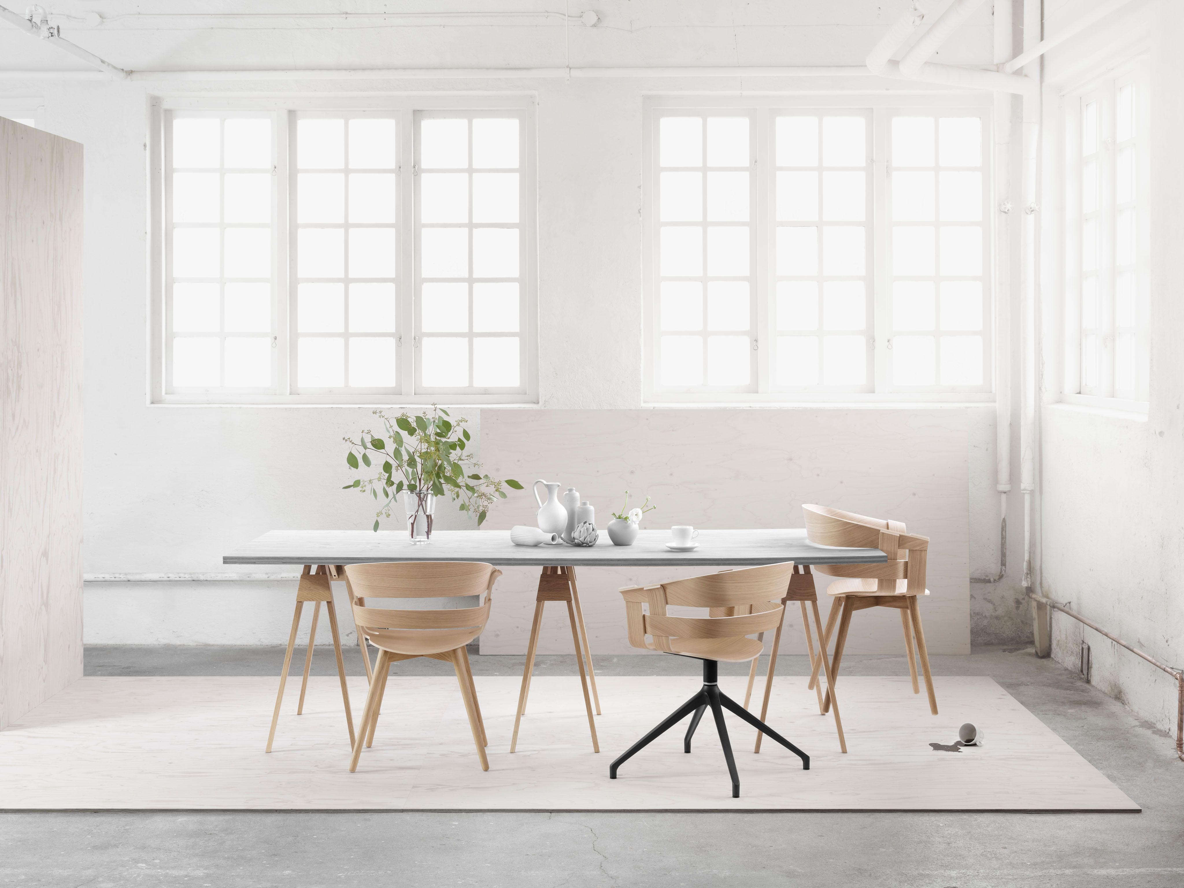 Design House Stockholm Wick Chair Design By Karl Malmvall &