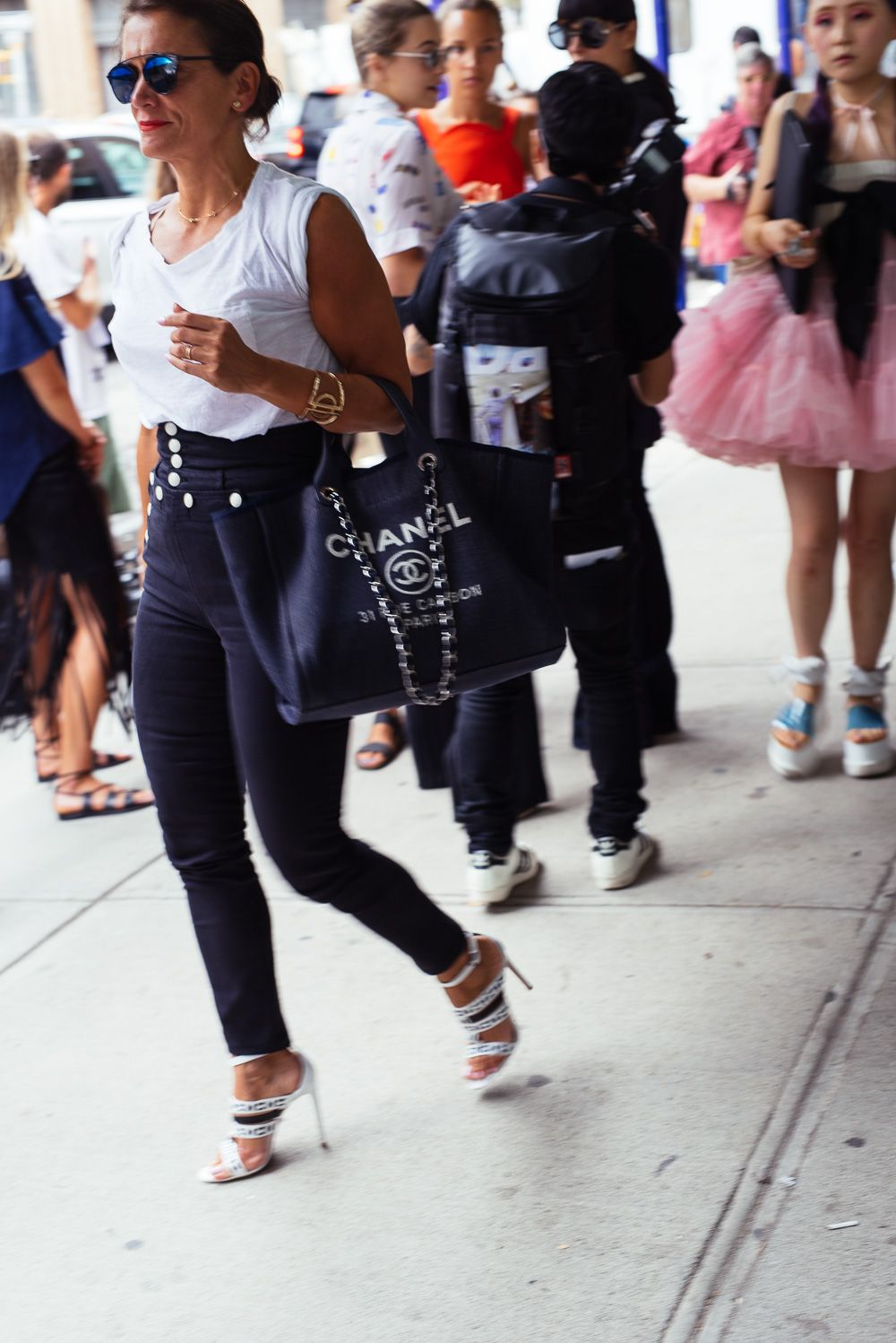 ae714fcd0af The Best Bags of NYFW Spring 2016 Street Style – Day 4 More